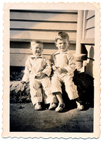 1 - David and me Nelson 1953 (edge)