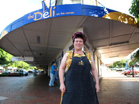 Carolyn Parkes of Deli on the corner