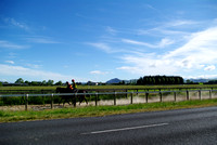 Cambridge New Zealand - working track Racecourse Road
